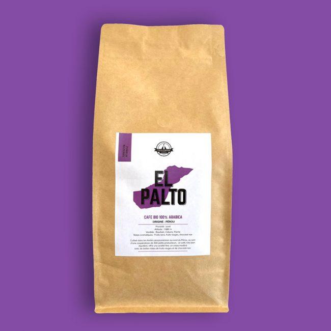 Paquet de café El Palto 1kg